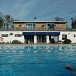 Hampton Pool building